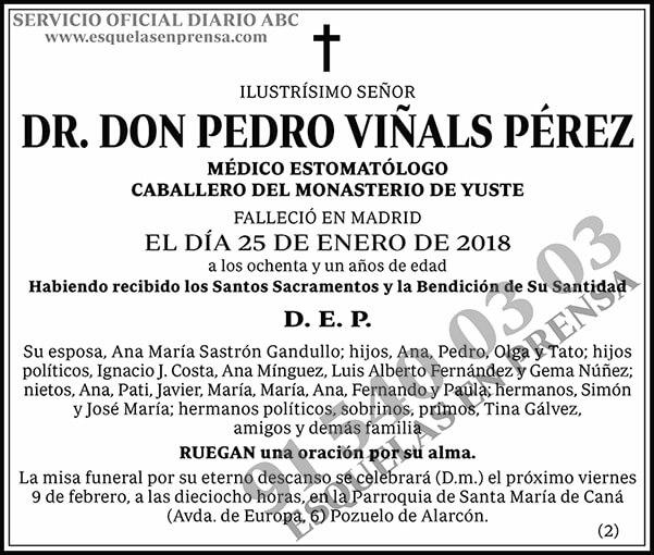 Pedro Viñals Pérez